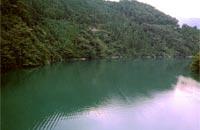 大自然ゆたかな二津野ダム